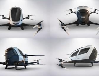 CES2016.- Una compañía china presenta el primer dron para pasajeros
