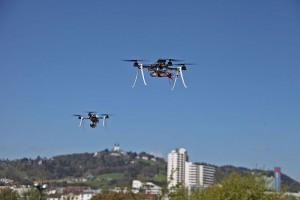 Drones en tráfico aéreo