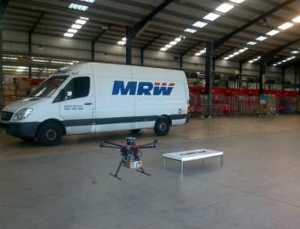 MRW se suma a la mensajería por dron