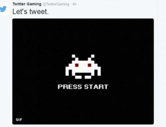 Twitter inaugura su cuenta oficial de videojuegos