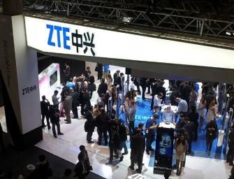 ZTE ganó 574 millones de dólares en 2015