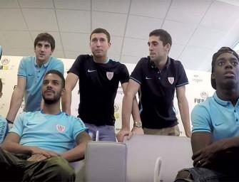 Los jugadores del Athletic diseñan su propio FUT Draft en FIFA 16