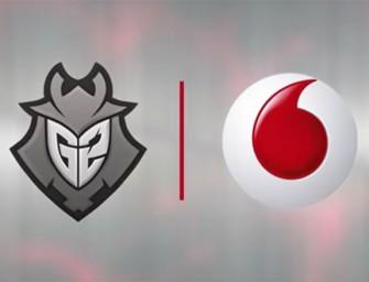 Vodafone aterriza en los eSports con su propio equipo: G2 Vodafone