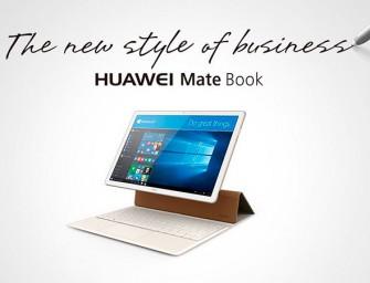 MWC16.- Huawei entra en el mercado de tablets convertibles con MateBook