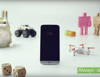 MWC16.- El LG G5 se presenta con cuerpo unibody y un slot mágico