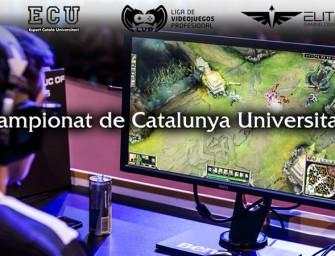 Las universidades catalanas lucharán en los eSports por primera vez