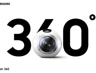 MWC16.- Samsung Gear 360: la realidad virtual casera que inundará las redes sociales