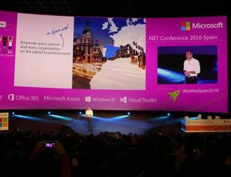 Los 30 minutos de Satya Nadella en la dotNet Spain Conference