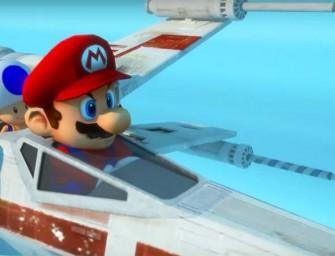 Star Kart: Mario Kart conoce a Star Wars