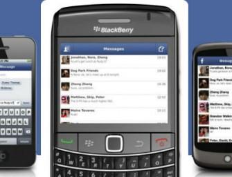 Facebook desaparecerá también de BlackBerry