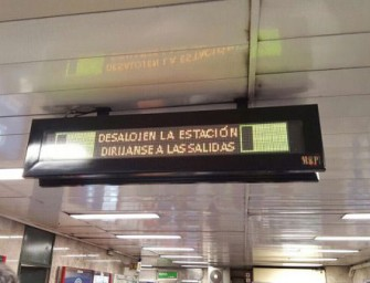 Un error informático desata las alarmas en el Metro de Madrid