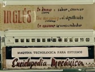 Google recuerda a la española precursora del eBook en los años 50