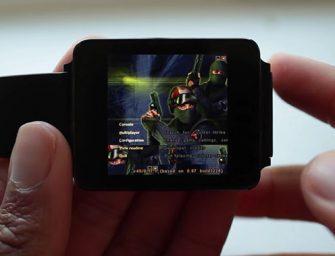 Consiguen jugar a Counter-Strike en un smartwatch Android