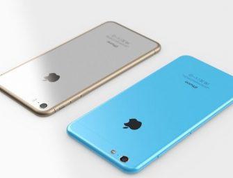 iPhone 7s: cuerpo de cristal y pantalla AMOLED