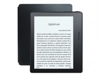 Amazon presenta Kindle Oasis, el ebook más fino y caro del mercado