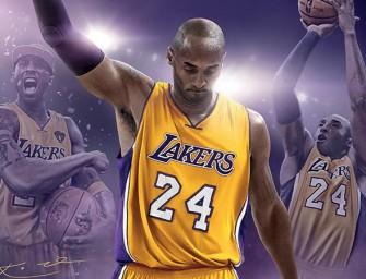 Kobe Bryant será una leyenda de portada en NBA 2K17