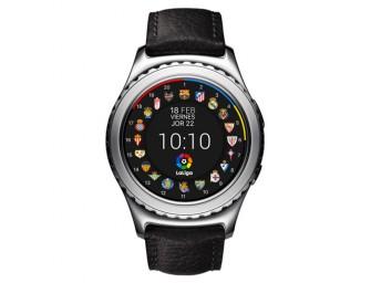 La esfera del Samsung Gear S2 se llena con LaLiga de las estrellas