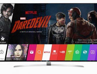 Netflix aprueba los nuevos televisores 4K de LG