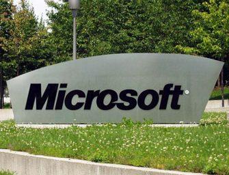 Microsoft consigue un beneficio neto de 5.200 millones