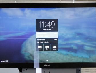 Microsoft reinventa las reuniones de trabajo con Surface Hub