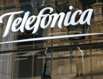 Telefónica gana casi un 60% menos en el inicio de 2016