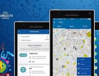 La UEFA ayuda a los seguidores a moverse por la Euro 2016 con su móvil