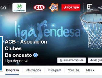 Facebook emitirá partidos en directo de la Liga Endesa