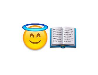 La nueva traducción de la Biblia es al emoji