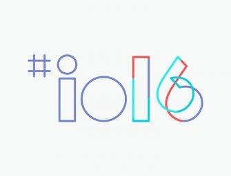 Google I/O 2016: Sigue en directo la keynote inaugural