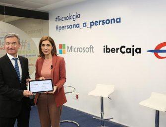 Microsoft llevará a Ibercaja a una completa transformación digital
