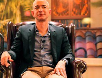 Jeff Bezos vende un millón de sus acciones de Amazon