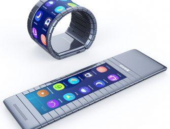 Los móviles flexibles ya han llegado