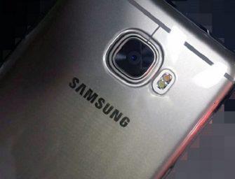 La gama media de Samsung se deja ver en imágenes con el nuevo C5