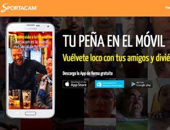 Sportacam: la red social que no gustará a Valdano