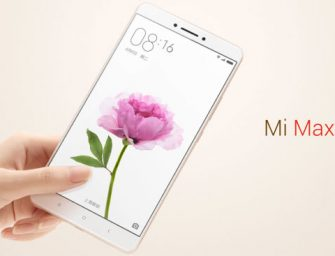 Xiaomi Mi Max, nuevo móvil que golpea el corazón de Apple y Samsung