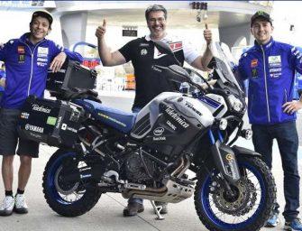 La moto conectada de Telefónica completa la primera vuelta al mundo