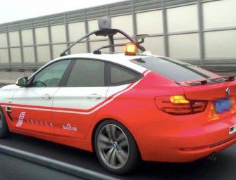 Los coches autónomos de Baidu se adelantan a Google