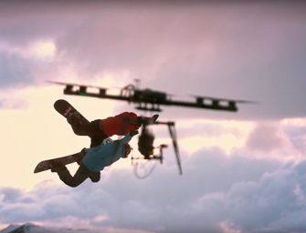 Así son las espectaculares imágenes grabadas con drones