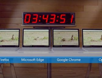 Microsoft ridiculiza la optimización de Chrome en un vídeo