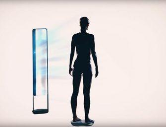 El espejo mágico inteligente que monitoriza el cuerpo humano