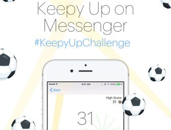 Facebook busca atraer usuarios a Messenger con un juego de fútbol