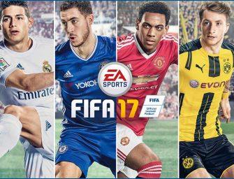 FIFA 17 cambia de nuevo la manera de vivir el fútbol