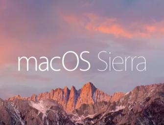 Siri llega a MacOS Sierra con increíbles funcionalidades