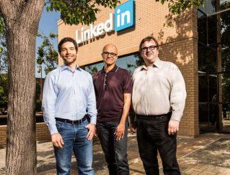Avance.- Microsoft compra LinkedIn por 26.200 millones de dólares