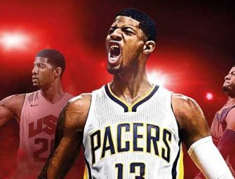 Paul George sustituye a Stephen Curry en la portada de NBA 2K17