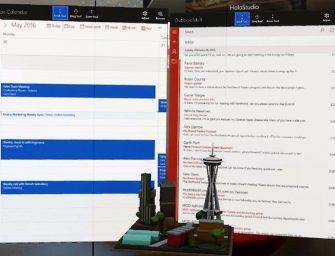 Microsoft lleva Outlook y Calendar a la realidad aumentada de HoloLens