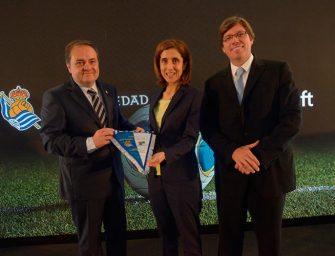 Microsoft transformará digitalmente a la Real Sociedad de Fútbol