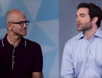 """""""Con la nube de Microsoft y la red de LinkedIn podemos cambiar la forma en que funciona el mundo"""""""