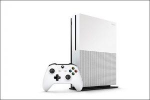 Xbox One S presentada por Microsoft