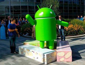 Se adelanta la Navidad y el turrón con la llegada de Android Nougat